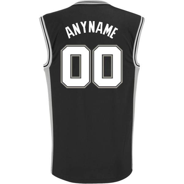 0d6808af San Antonio Spurs Custom Replica Road Jersey - San Antonio Spurs - Official  Online Store